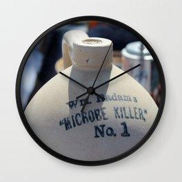 Microbe Killer Wall Clock