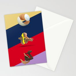 Wood Day triptych Stationery Cards