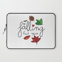 I'm falling for you Laptop Sleeve