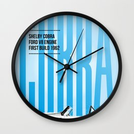 Cobra Tribute Wall Clock