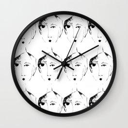 mesdemoiselles Wall Clock