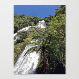 Waihirere Falls, New Zealand Canvas Print