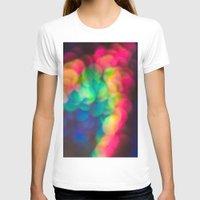 bokeh T-shirts featuring Bokeh by Liz Wyatt