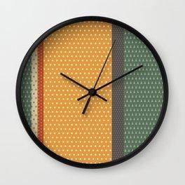Terres de France Wall Clock