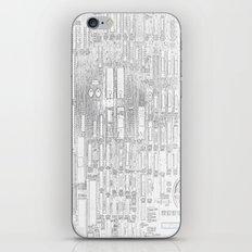 Robot People   (A7 B0019) iPhone & iPod Skin