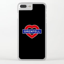 Grenfel Clear iPhone Case