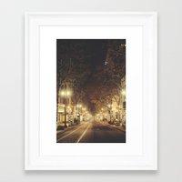portland Framed Art Prints featuring Portland by Tasha Marie