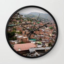Medellín Wall Clock