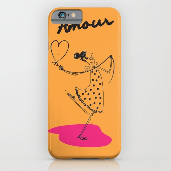"The Ink - ""Amour"" iPhone & iPod Case"