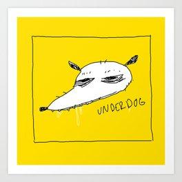UNDERDOG (items available) Art Print
