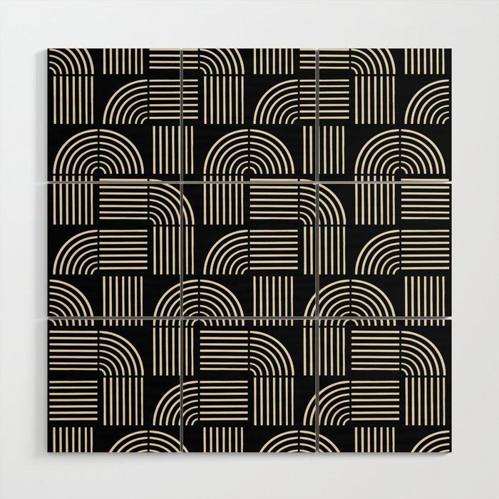Balance Lines Wood Wall Art
