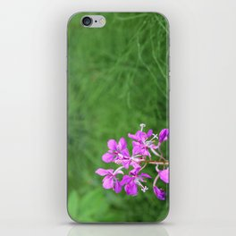 Fireweed Wildflower iPhone Skin
