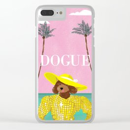 Dogue - Beverly Hills Clear iPhone Case