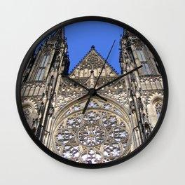 Prague II Wall Clock