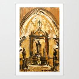 Chapel Art Print