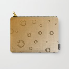 design 50s dots deluxe on gold Carry-All Pouch