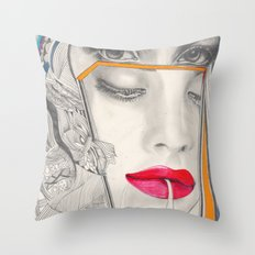 I Believe in Beauty 3 Throw Pillow