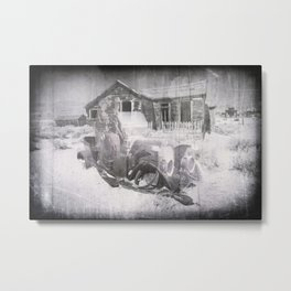 Bodie Ghost Town 4, California. Metal Print