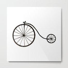 Farthing bike Metal Print
