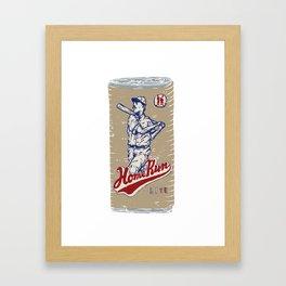 Home Run Lite Framed Art Print