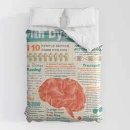 Visually Communicating with Dyslexics Infrographic Comforters