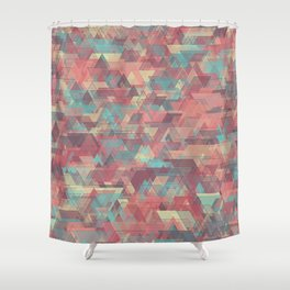 Equilateral Confusion Shower Curtain