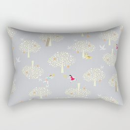 I the apple orchards pattern Rectangular Pillow