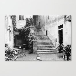 Roma - Gelateria del Teatro Canvas Print