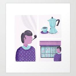 Routine Art Print