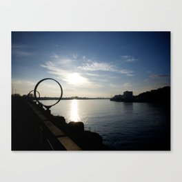 The Rings Canvas Print