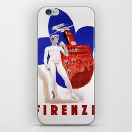 Visit Florence iPhone Skin