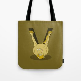 Monogram V Pony Tote Bag