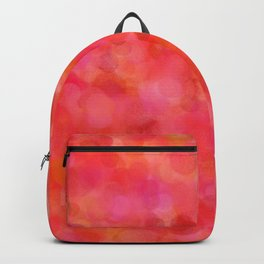 Red Fruit Punch Pattern Backpack