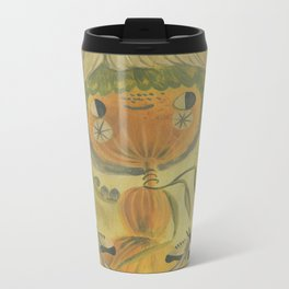 Butterfly banner Metal Travel Mug