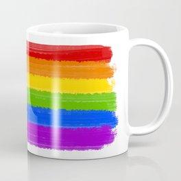 Rainbow Pride Flag Coffee Mug