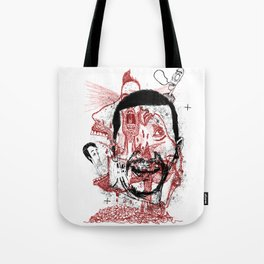 Chaotic mind Tote Bag