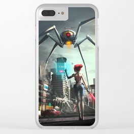 VR World Clear iPhone Case