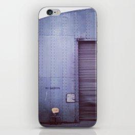 smoke break iPhone Skin