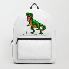 Dinosaur T Rex Jump Rope Backpack