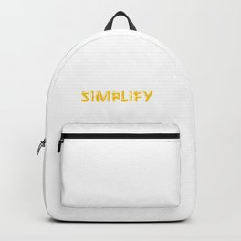 Simplify Backpack