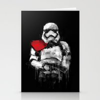 trooper Stationery Cards featuring Trooper by Rafal Rola