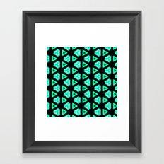 pttrn16 Framed Art Print