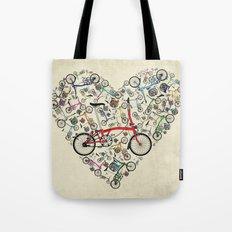 I Love Brompton Bikes Tote Bag