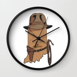 Indy Wall Clock