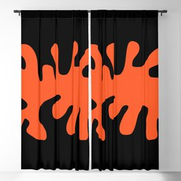 Dancing With Matisse Minimal Abstract Art Blackout Curtain