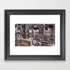 Brain Lapse (Still Frame 1) Framed Art Print