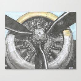 B-17 prop Canvas Print