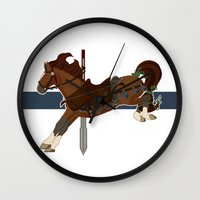 kili Wall Clocks featuring Kili by MarieJacquelyn