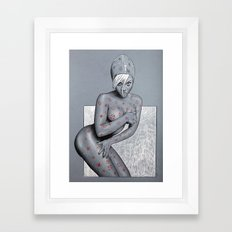 Nude girl 4 Framed Art Print