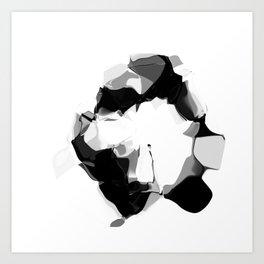 """MNIST """"ZERO"""" Art Print"""